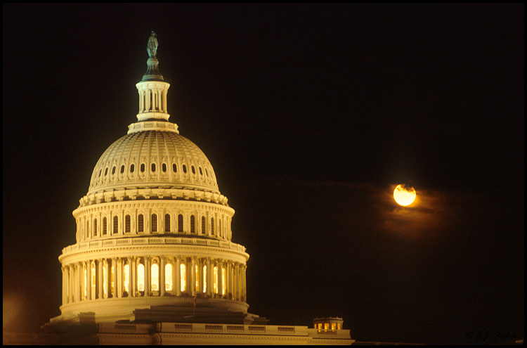 Capitol Moonrise