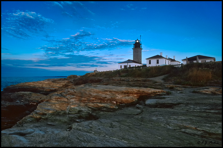 Beavertail Light, RI