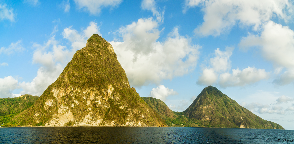 The Pitons, Saint Lucia