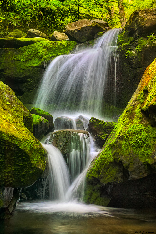 Lower Grotto Falls, Great Smoky Mountains NP, TN