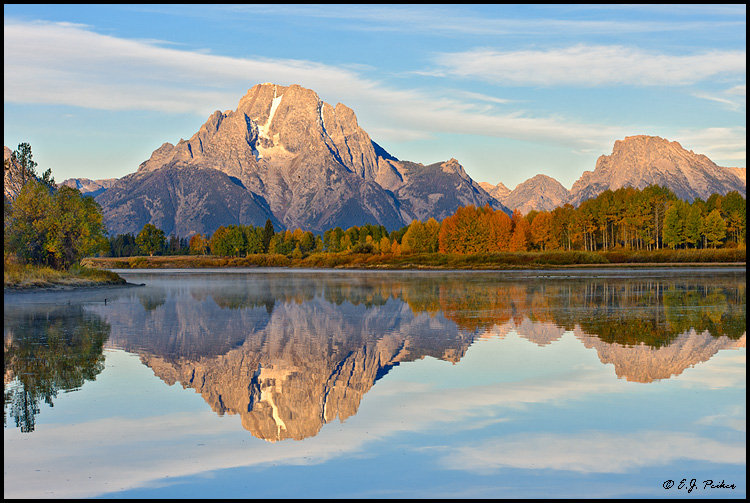 Mount Moran, Wyoming