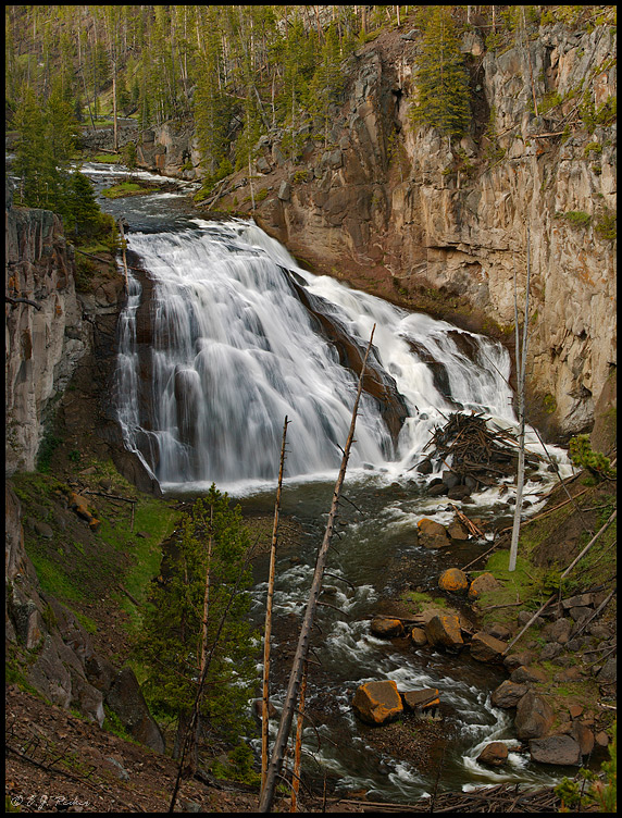 Gibbon Falls, Yellowstone NP, WY