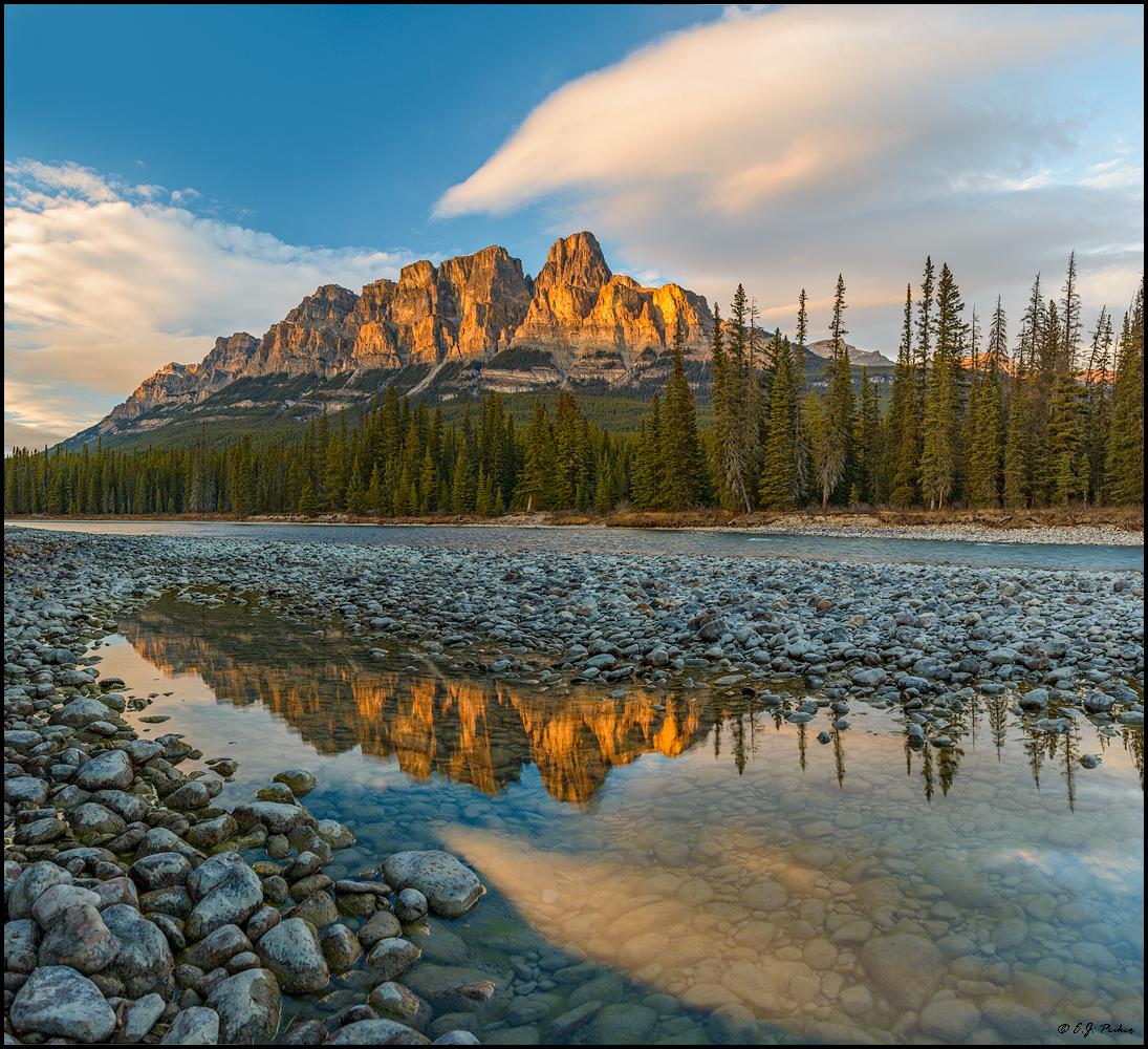 Castle Mountain, Alberta, Kanada