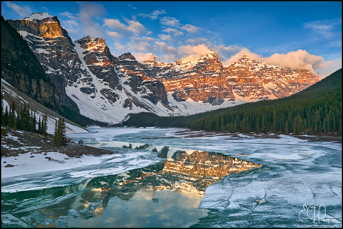 Moraine Lake, Banff NP, AB