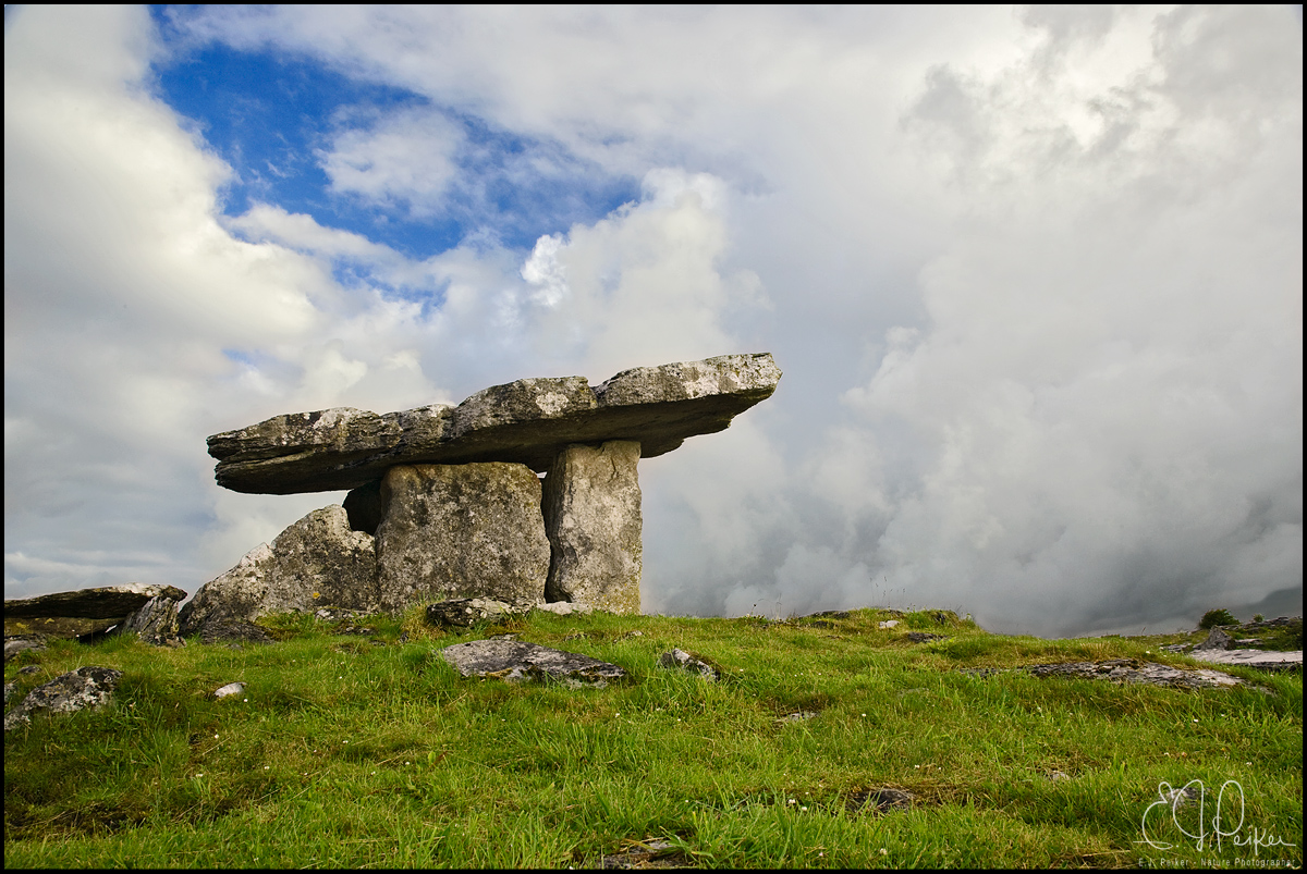 Poulnabrone Dolmen (Ancient Burial Chamber)