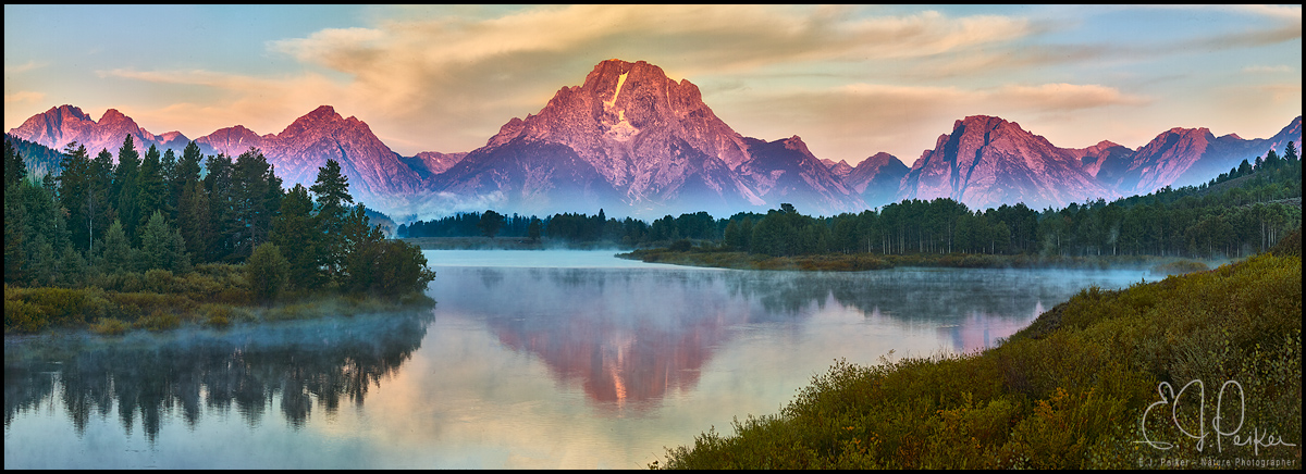 Oxbow Bend, Grand Teton National Park, WY